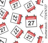 january 27 calendar page...