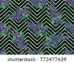 seamless ardent pattern in... | Shutterstock .eps vector #772477639