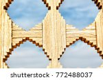 geometry and simmetry in the... | Shutterstock . vector #772488037