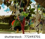 close up of pacifier tree in... | Shutterstock . vector #772493701