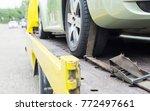 car transporter breakdown lorry ... | Shutterstock . vector #772497661