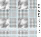 seamless glen plaid pattern in...   Shutterstock .eps vector #772501291