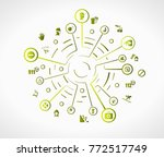 safety concept illustration... | Shutterstock .eps vector #772517749