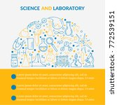 scientific laboratory research... | Shutterstock .eps vector #772539151