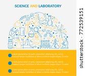 scientific laboratory research... | Shutterstock .eps vector #772539151