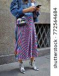 milan   september 23  woman... | Shutterstock . vector #772564684