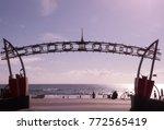 surfers paradise queensland... | Shutterstock . vector #772565419