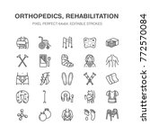 orthopedics  trauma...   Shutterstock .eps vector #772570084