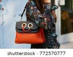 milan   september 23  woman...   Shutterstock . vector #772570777