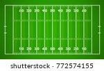american football field.... | Shutterstock .eps vector #772574155