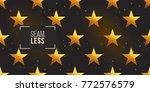 gold polygonal shape  american... | Shutterstock .eps vector #772576579