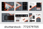 brochure creative design.... | Shutterstock .eps vector #772579705