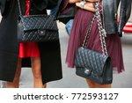 milan   september 23  women...   Shutterstock . vector #772593127