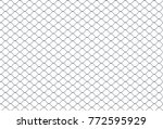 seamless looping texture of... | Shutterstock . vector #772595929