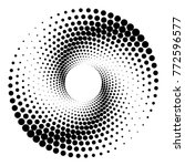 original abstract halftone... | Shutterstock .eps vector #772596577