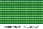 computer generated shot of... | Shutterstock . vector #772600369