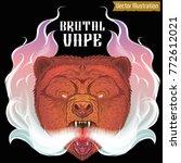 brutal vape bear releases steam