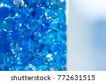 blue aroma beads | Shutterstock . vector #772631515