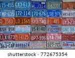 red oak  missouri   july 19 ... | Shutterstock . vector #772675354