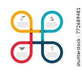 business data visualization.... | Shutterstock .eps vector #772689481