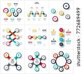 vector infographic design... | Shutterstock .eps vector #772689499