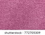 seamless generic pink carpet... | Shutterstock . vector #772705309