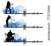 musical group   Shutterstock .eps vector #77271046