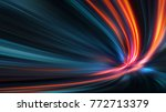 acceleration speed motion on... | Shutterstock . vector #772713379