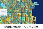 chicago   united states ... | Shutterstock .eps vector #772719625