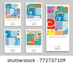 card or invitation. vector... | Shutterstock .eps vector #772737109