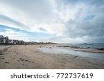 north berwick  a seaside town...   Shutterstock . vector #772737619
