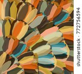 abstract multicolored picture... | Shutterstock .eps vector #772756594