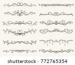 vector illustration of... | Shutterstock .eps vector #772765354