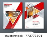 brochure template layout design.... | Shutterstock .eps vector #772773901