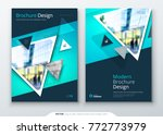 brochure template layout design.... | Shutterstock .eps vector #772773979