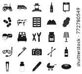 child education icons set.... | Shutterstock .eps vector #772780549