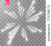 firework lights effect with... | Shutterstock .eps vector #772798771