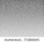 snow flakes  snow background....   Shutterstock .eps vector #772800691