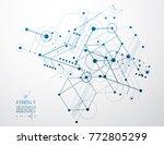 vector industrial and... | Shutterstock .eps vector #772805299