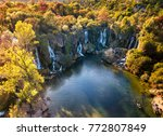 kravice waterfall in bosnia | Shutterstock . vector #772807849
