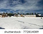 winter susai shed | Shutterstock . vector #772814089
