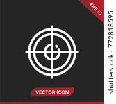 target icon. vector sign