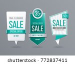 sale banner template | Shutterstock .eps vector #772837411