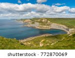 view from the south west coast... | Shutterstock . vector #772870069