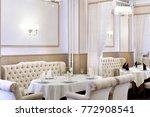 beautiful brand new european... | Shutterstock . vector #772908541