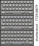 gray virtual keyboard for a...