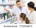 professional clinician... | Shutterstock . vector #772926871