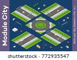 isometric module is area... | Shutterstock .eps vector #772935547