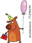 happy birthday  | Shutterstock .eps vector #77298199