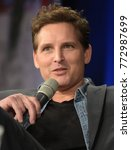 Small photo of Dortmund, Germany - December 9th 2017: US Actor Peter Facinelli (Twilight Saga, Supergirl, American Odyssey, Glee) at German Comic Con Dortmund.